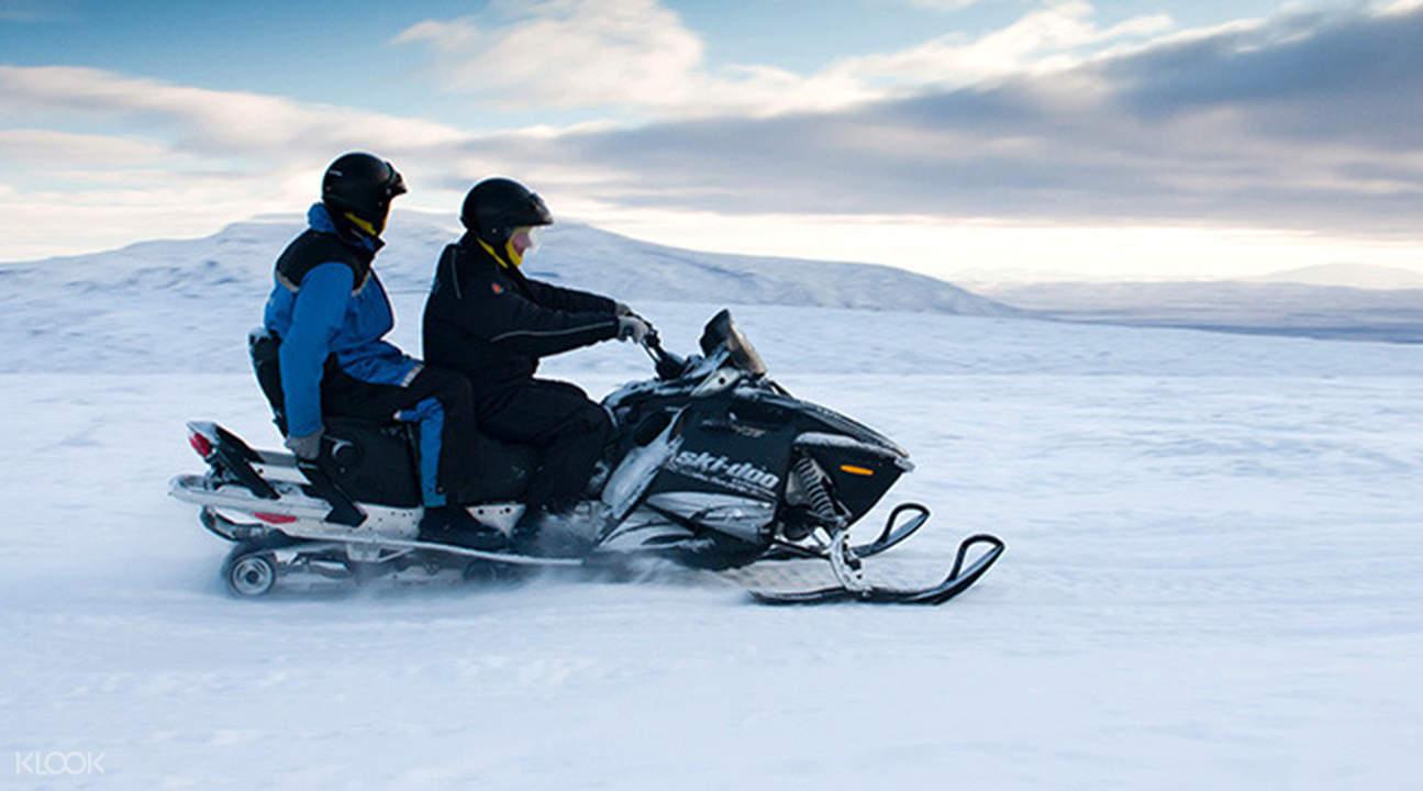 黄金圈雪地摩托体验
