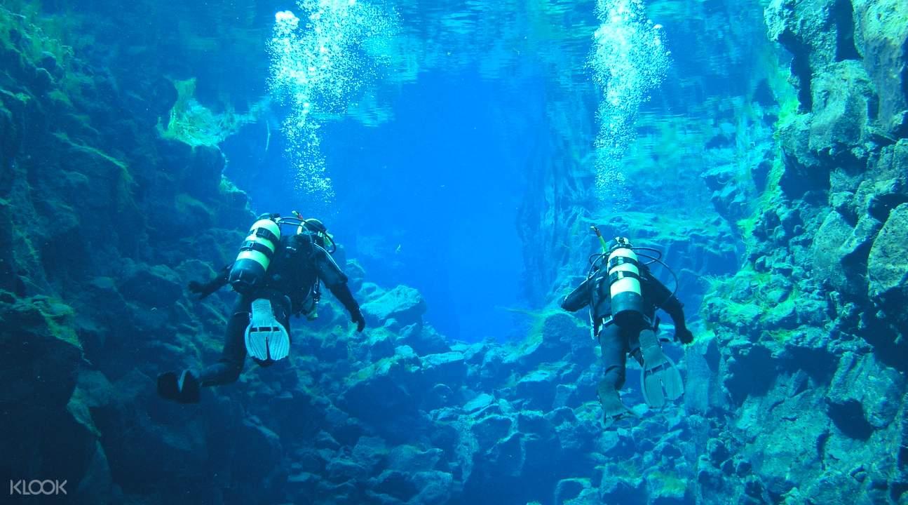 冰島絲浮拉大裂縫浮潛體驗