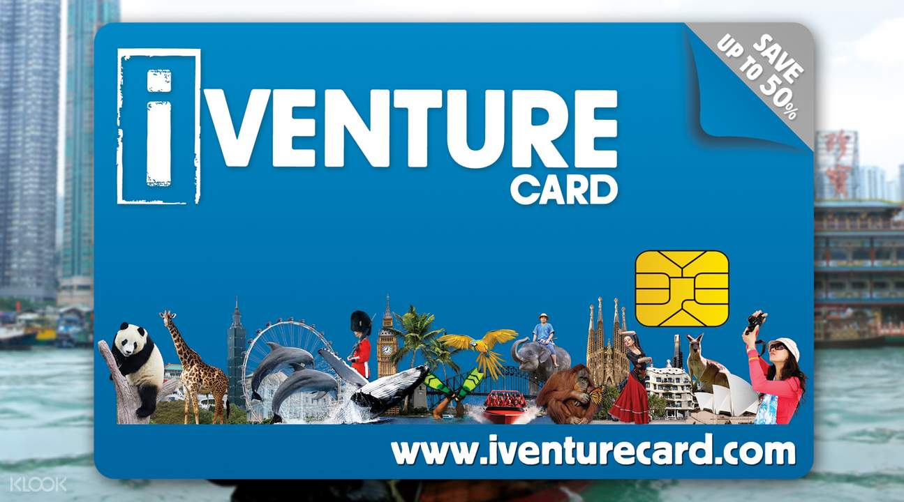 iVenture Hong Kong and Macau Attractions Pass