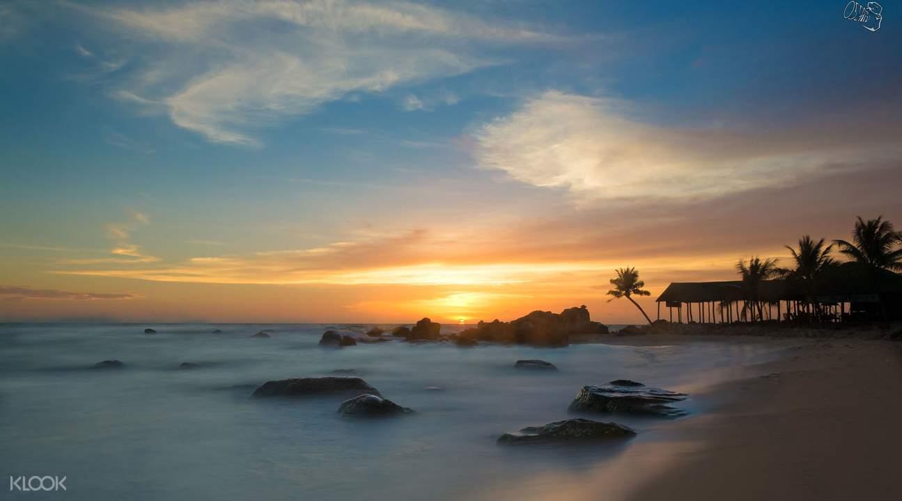 富国岛落日