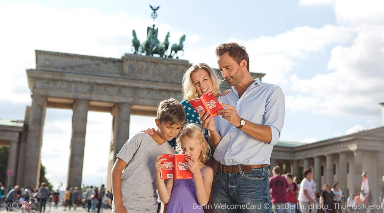 Berlin WelcomeCard © visitBerlin, photo_ Thomas Kierok