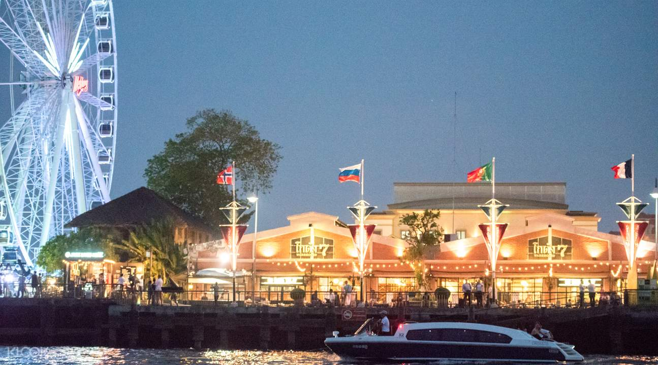 boat cruise with dinner chao phraya