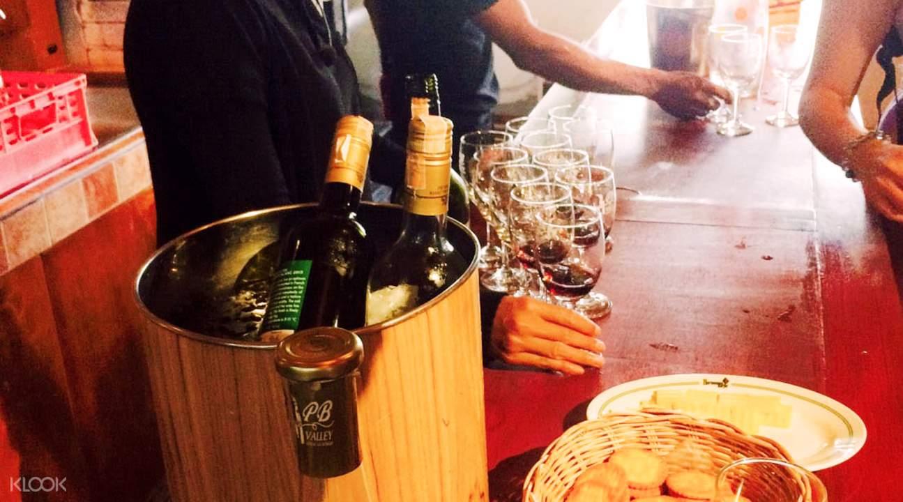 wine tasting Thailand