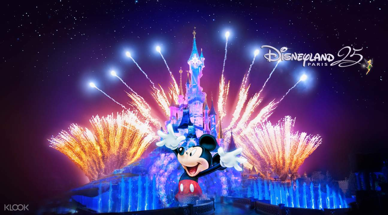 disneyland paris lights show