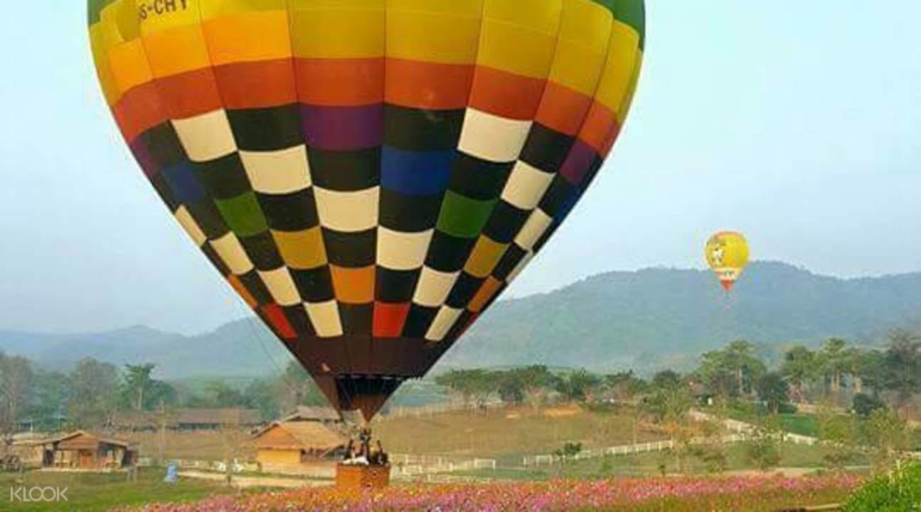 清邁 高空熱氣球體驗