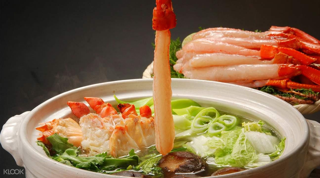 螃蟹锅物料理