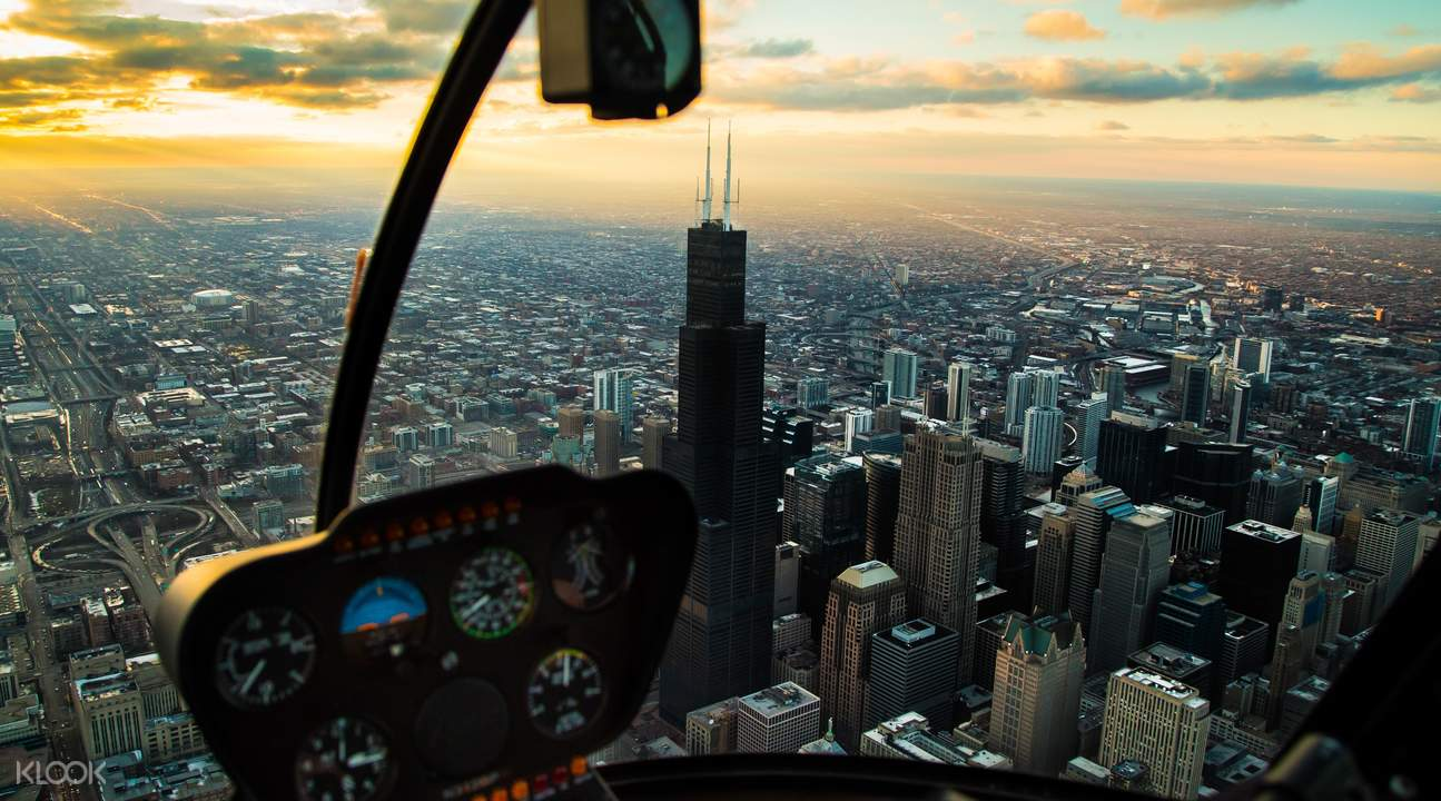 chicago helicopter tours day tour