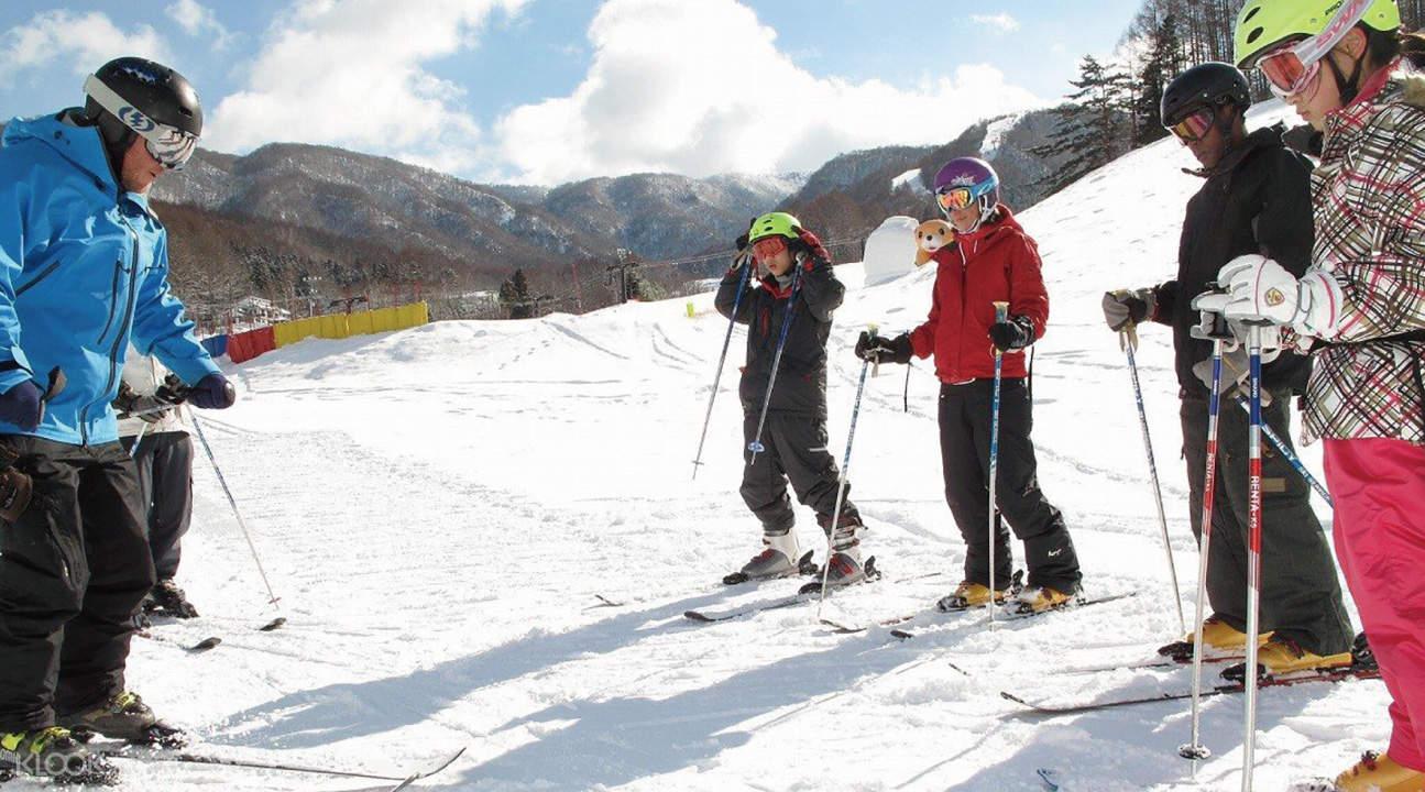 长野县车山高原滑雪场
