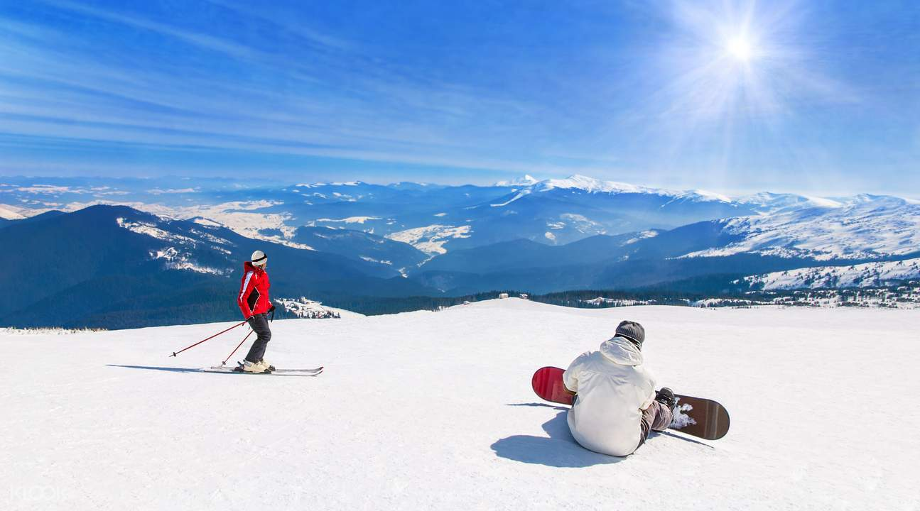 阿尔卑斯山滑雪