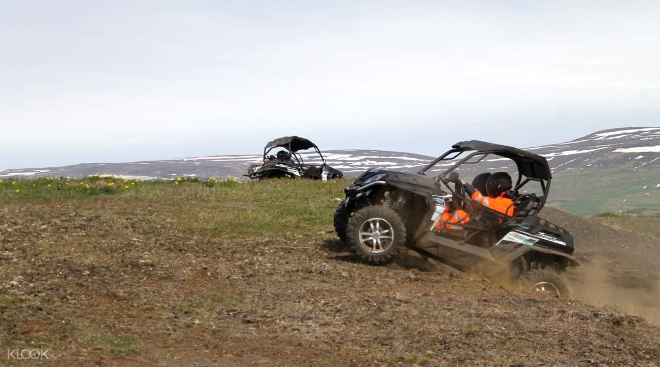 冰島北海岸四驅越野車探險體驗
