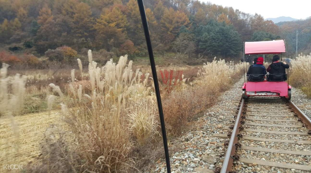 Chuncheon Railbike Tour