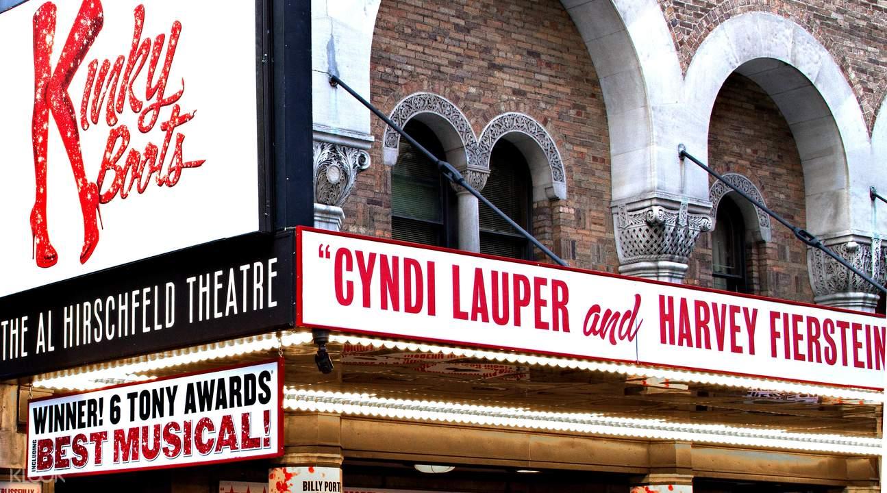 Kinky Boots Broadway Al Hirschfeld Theatre