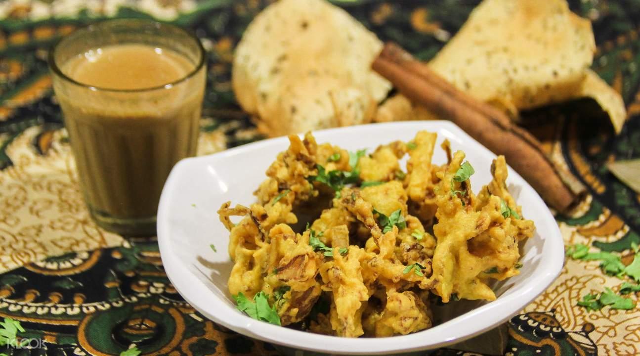 Khantha's Kitchen印度奶茶和炸酥