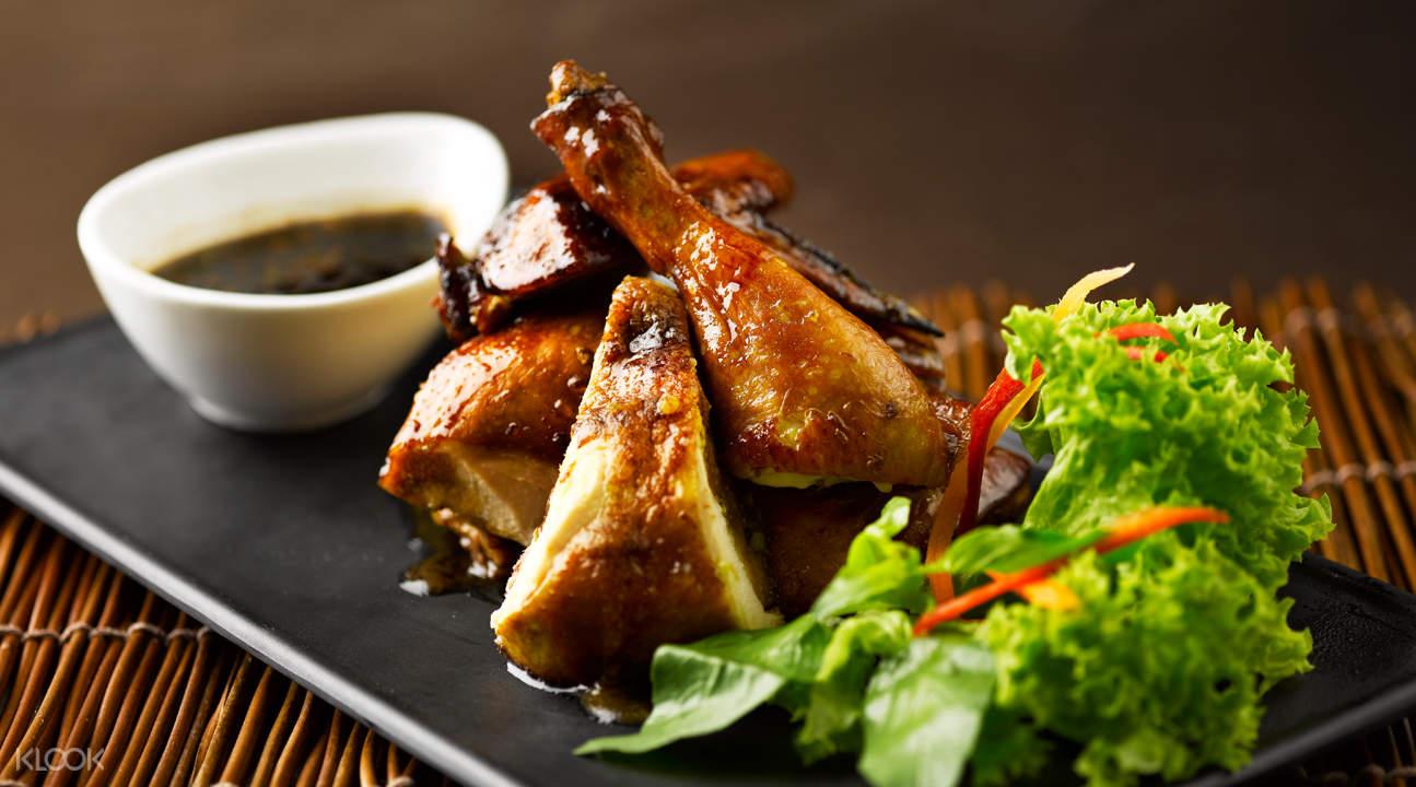 港湾Rumah Rasa餐厅甜辣烤鸡