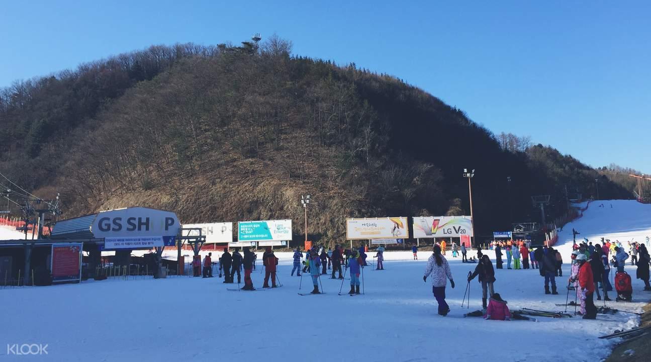 南怡岛 & 伊利希安江村滑雪场