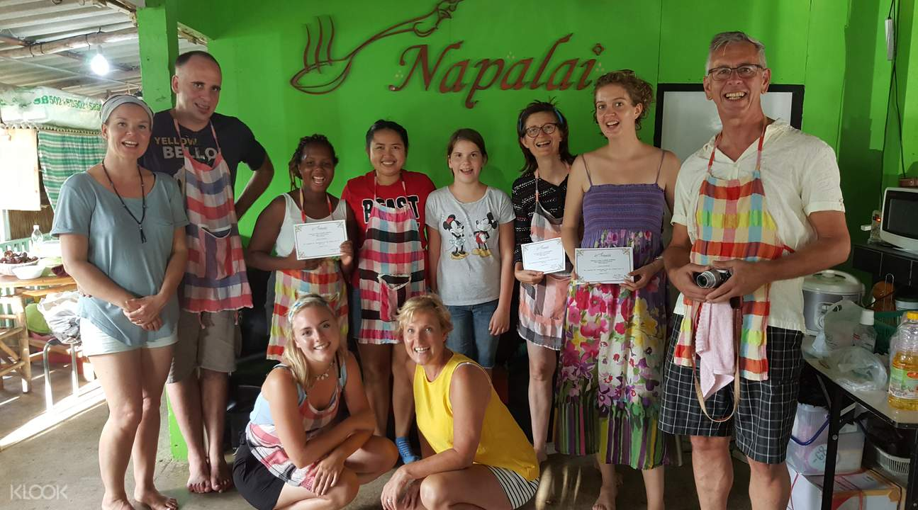 napala thai cuisine school koh chang thailand