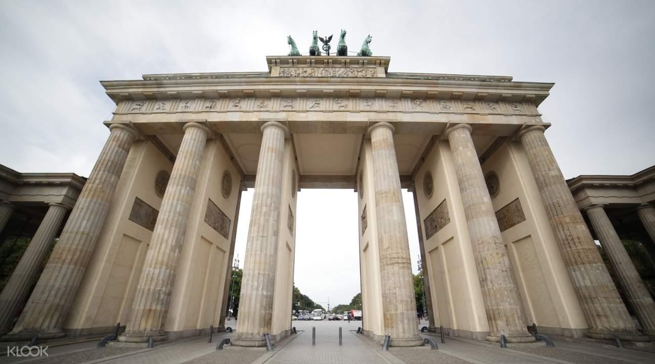 柏林半日遊布蘭登堡門