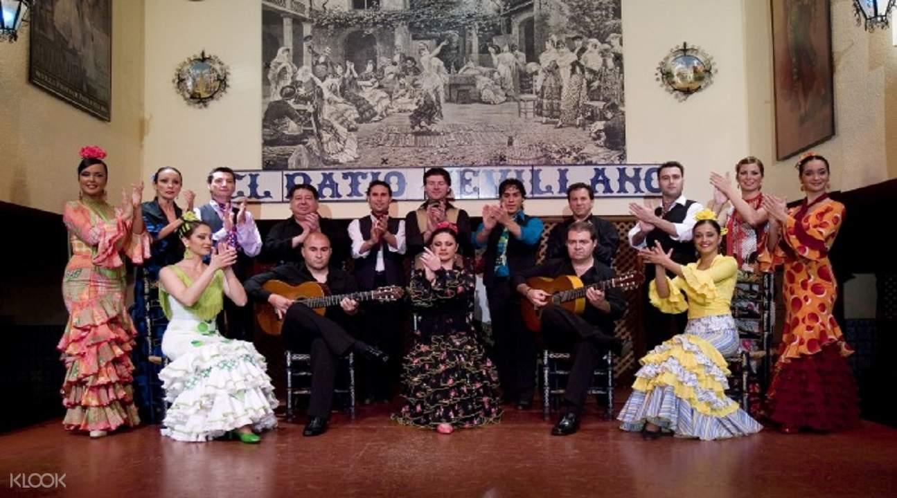 seville night walking tour, seville walking tour, seville flamenco show