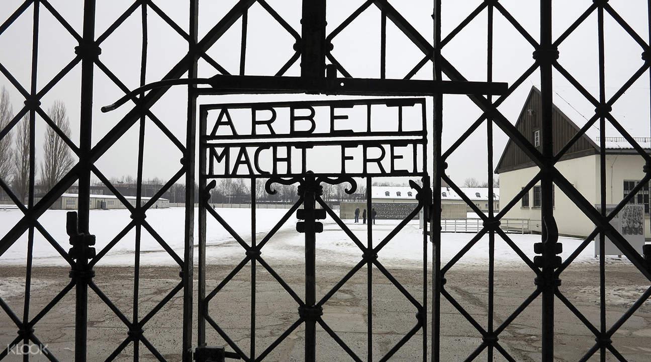 达豪集中营和前SS射击场