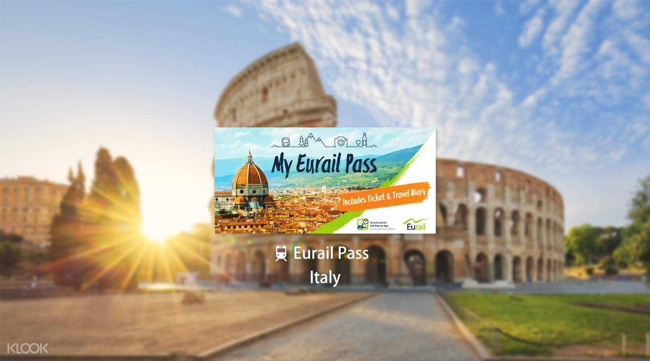 Eurail Pass for Italy (3, 4, 5, 6 or 8 Days)