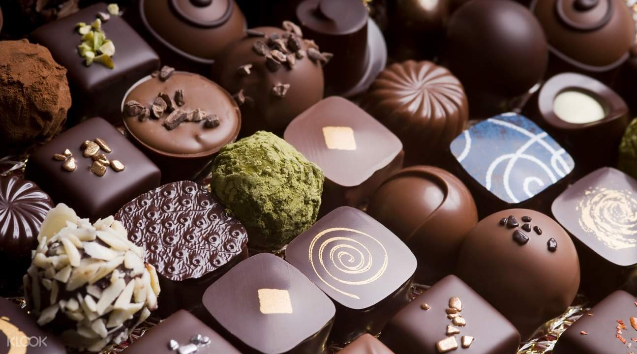 chocolates in Yarra Valley Dairy