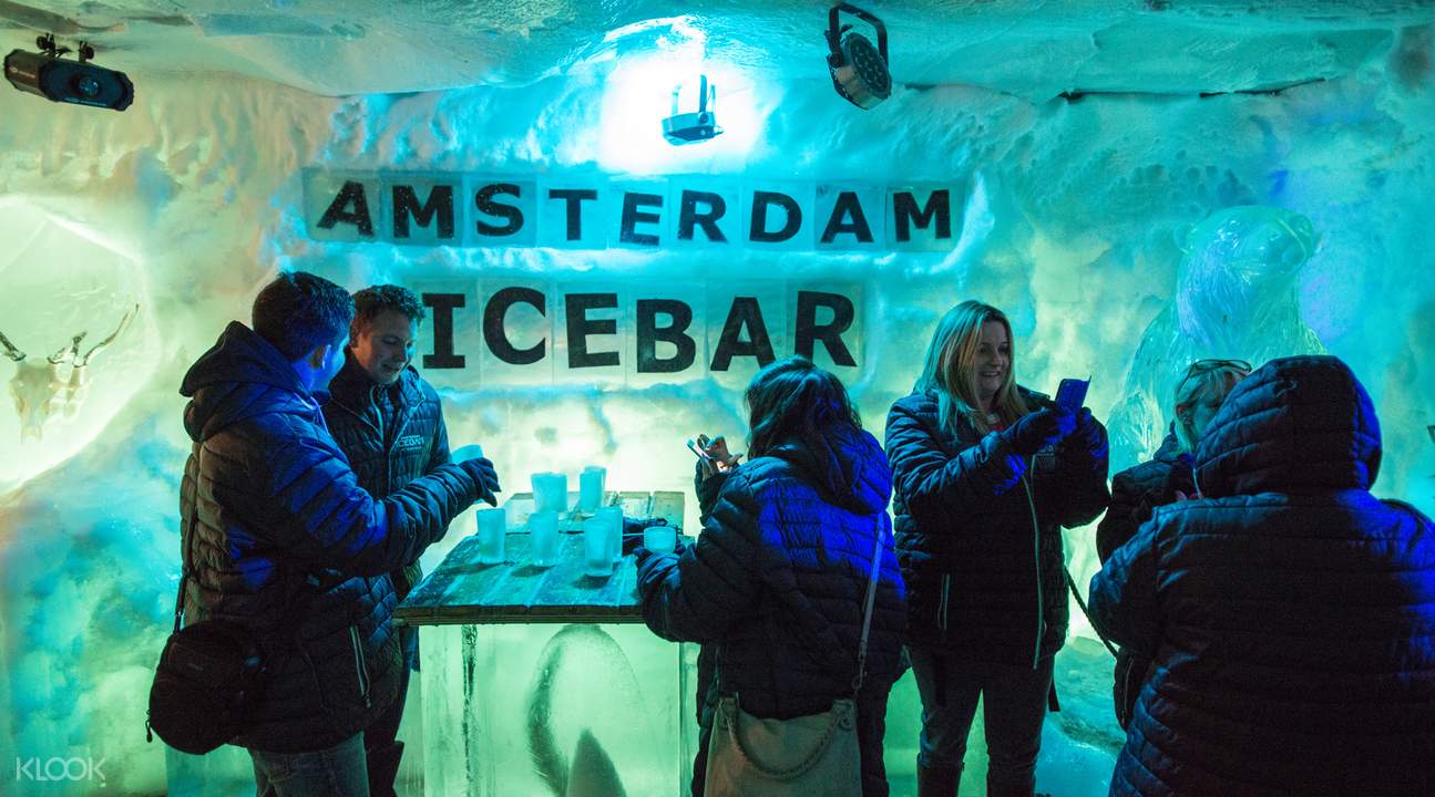 ice bar amsterdam ticket price