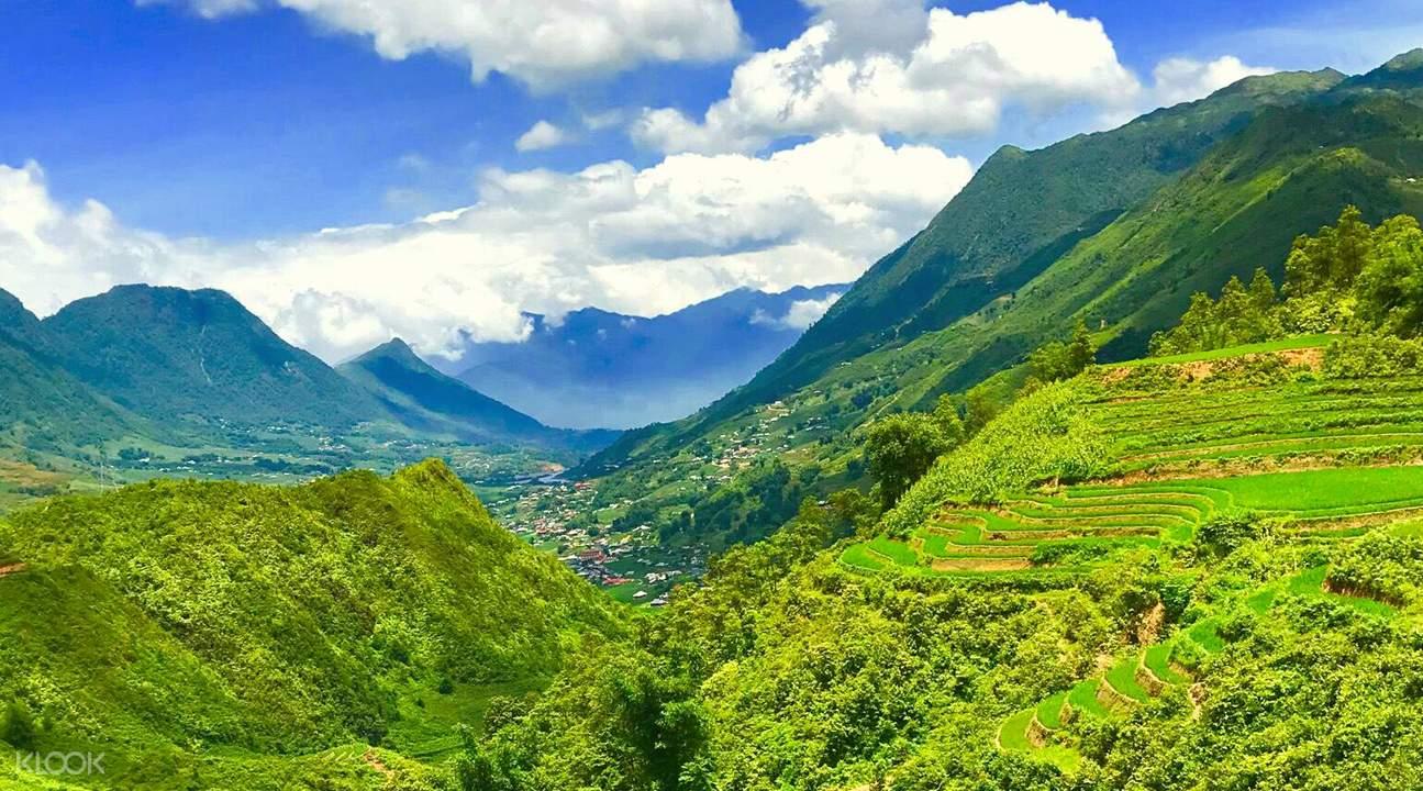 sapa trekking views