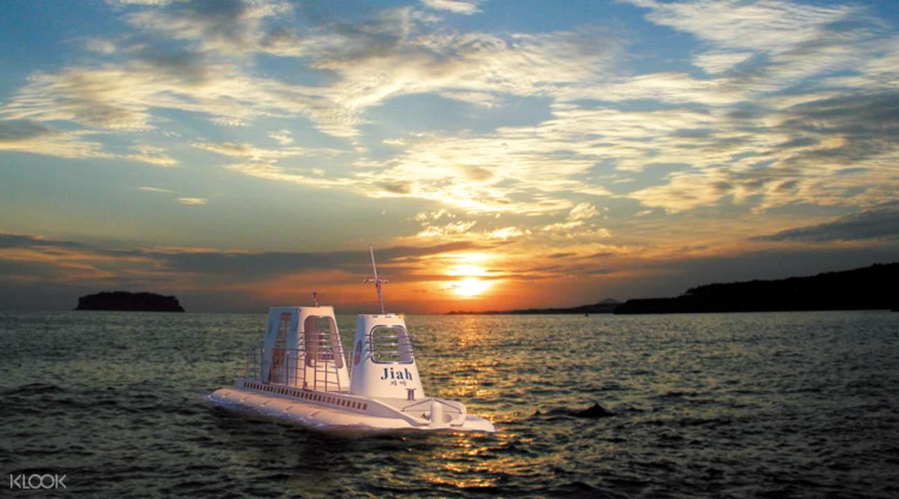 濟州島西歸浦潛水艇