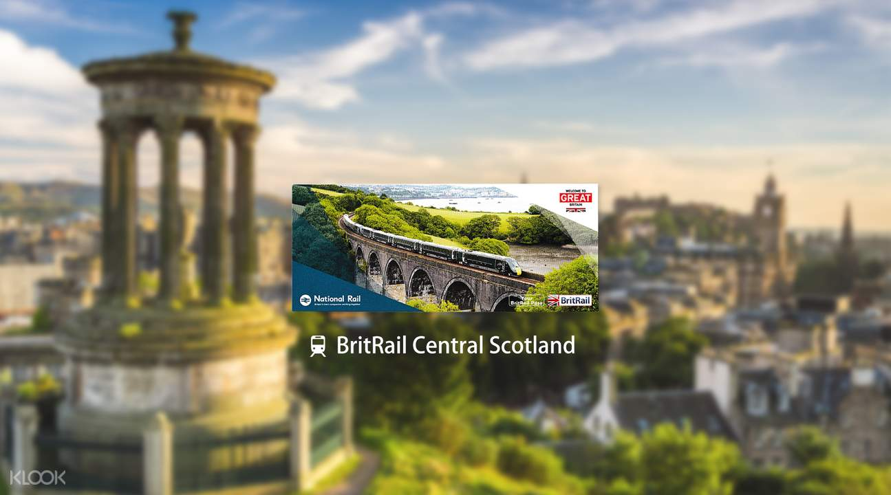 BritRail Central Scotland Pass (3 Days)