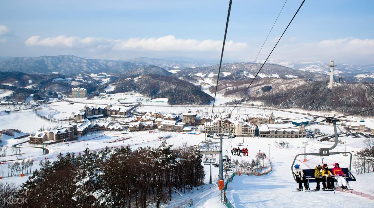 alpensia滑雪场