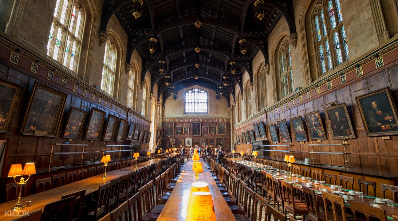 the Christ Church Dining Hall