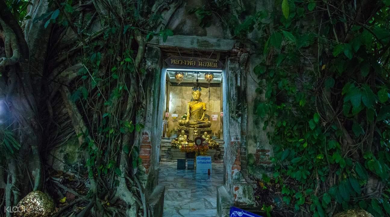 泰國曼谷安帕瓦樹中廟