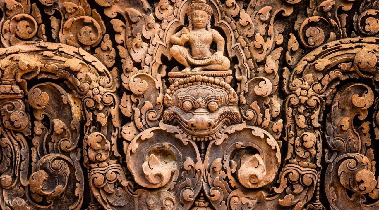 banteay srei private tour by tuk tuk siem reap cambodia