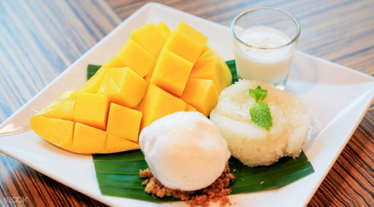 芒果糯米饭曼谷180空中酒吧