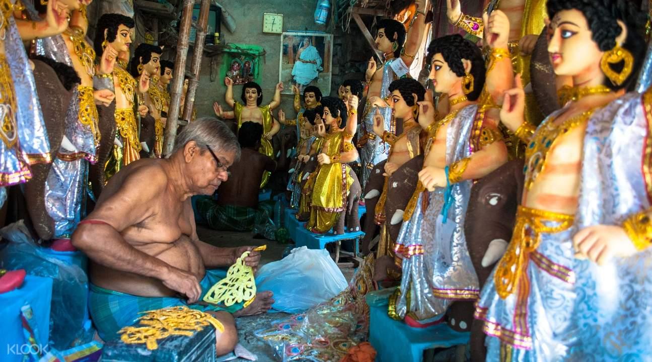 印度加爾各答購物行