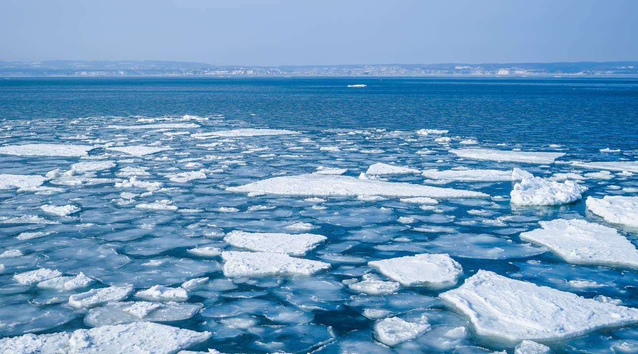 drift ice sightseeing abashiri japan