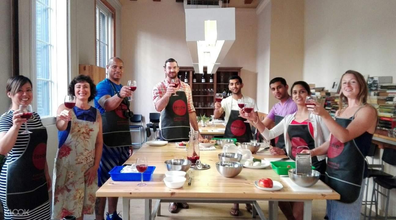 巴塞罗那美食烹饪课