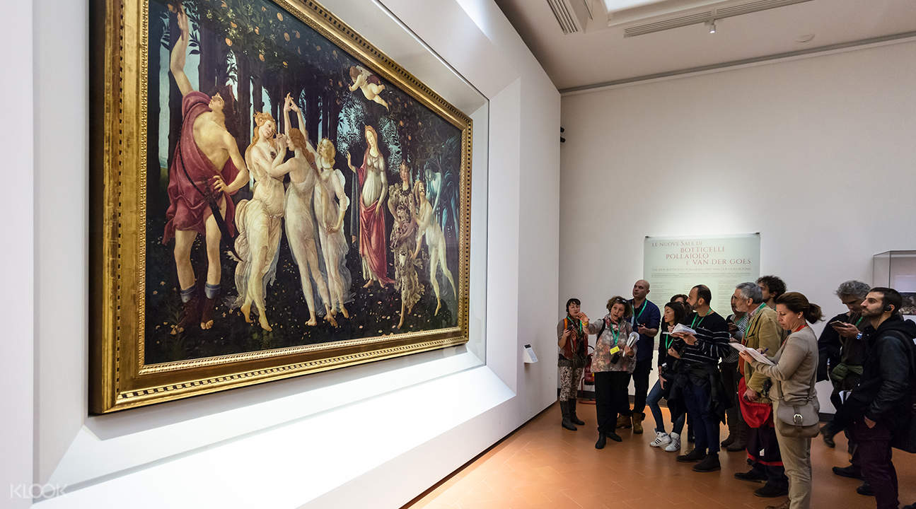 Guided Tour with Fast Track Entry to Accademia and Uffizi