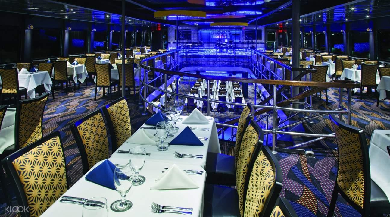 纽约精神号游船自助晚餐