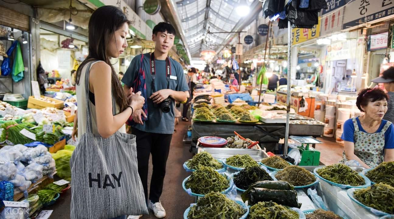 traditional market visit korea