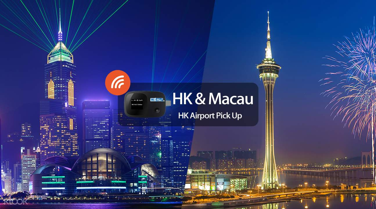 3G WiFi (HKG Pick Up) for Macau