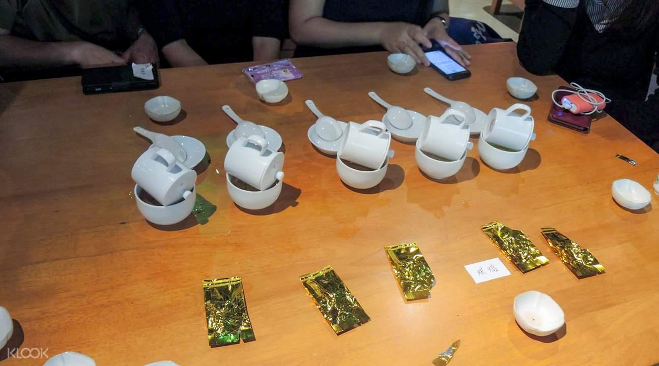 Tea tasting Taiwan