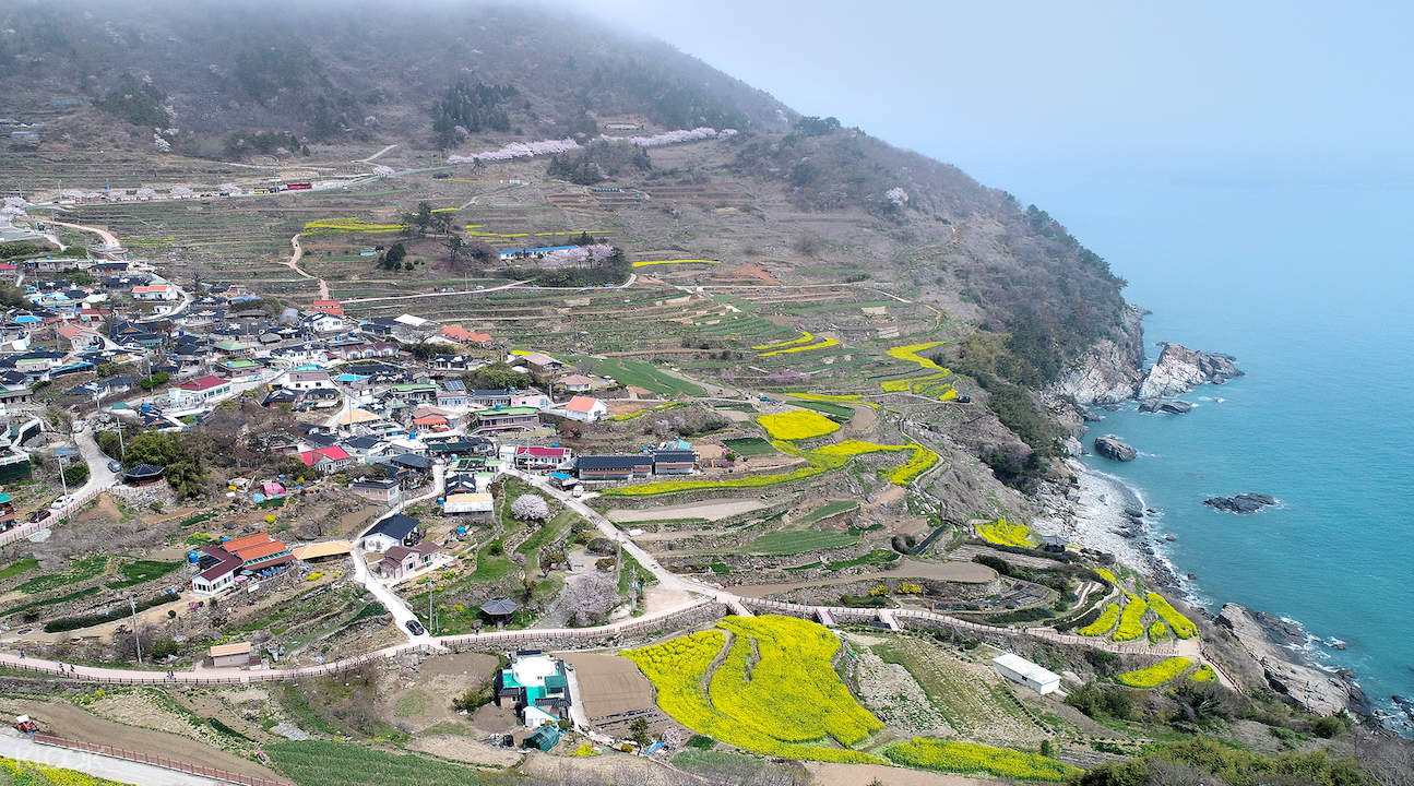 namhae tour, namhae visit korea, namhae from busan, namhae busan, busan to namhae island, daraengi village namhae