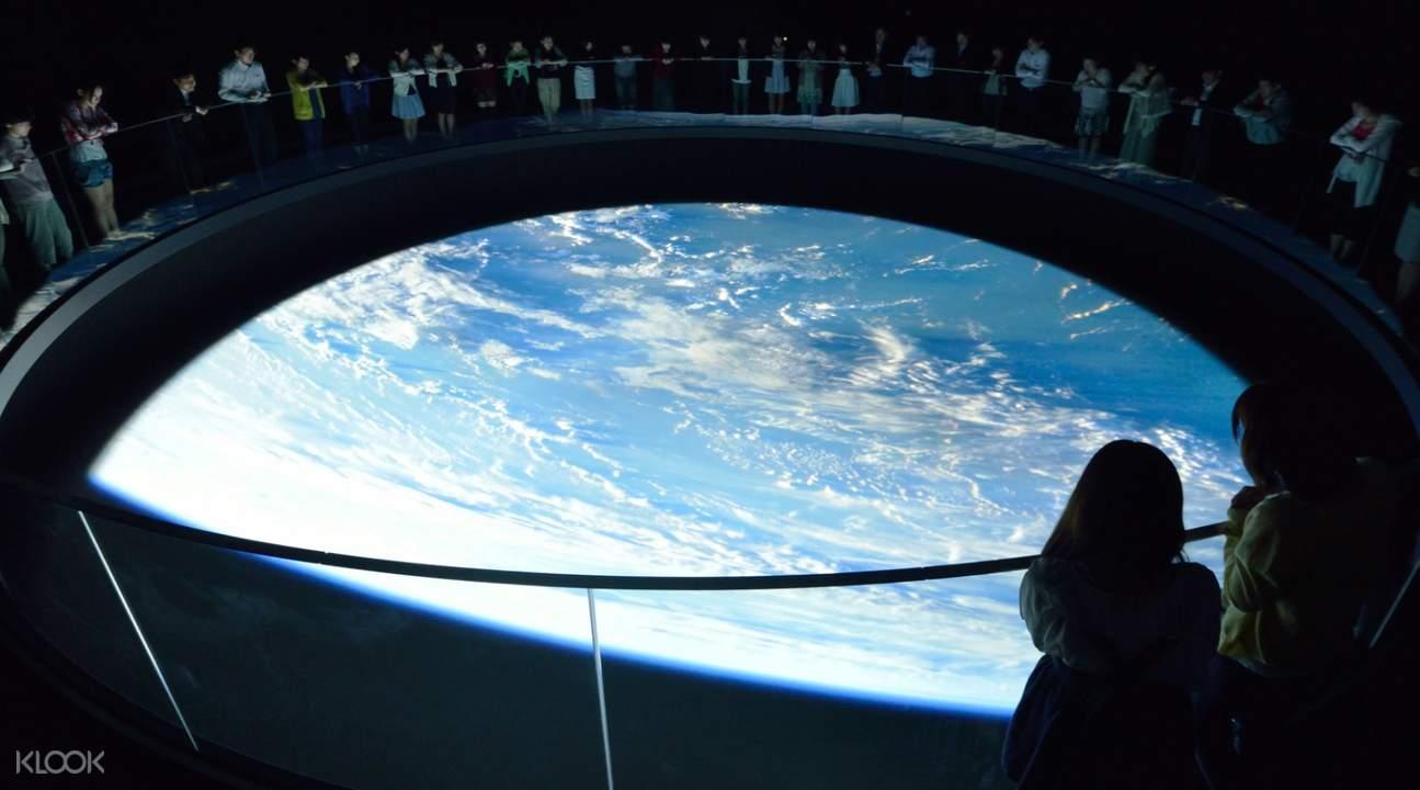 exhibit at Space Museum TeNQ