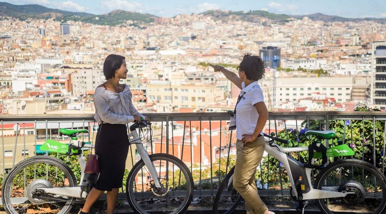 巴塞罗那360º体验与电动自行车一日导览,巴塞罗那360º体验,巴塞罗那电动自行车一日导览