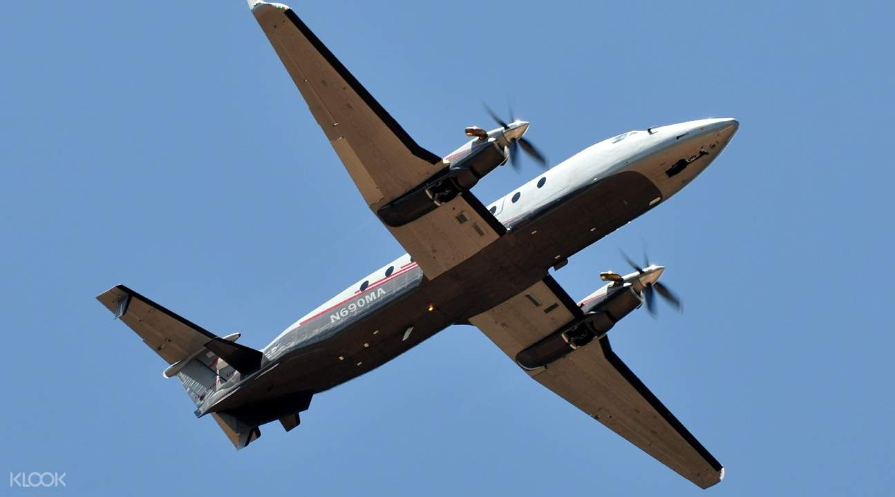 Maverick's Beechcraft 1900D aircraft