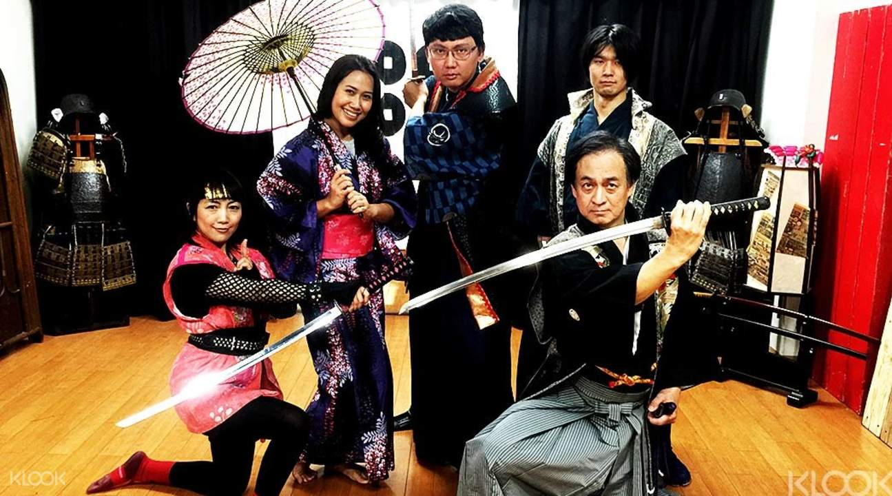 Samurai workshop Japan