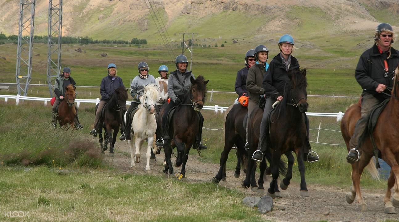 黄金圈一日游 & 骑马体验