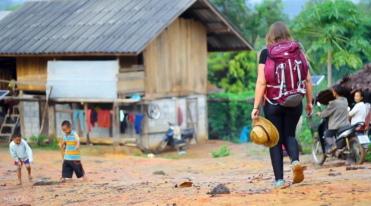 泰國清邁白克倫族部落