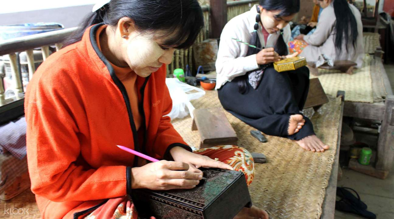 craft lacquerware in bagan